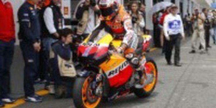 Dani Pedrosa y Casey Stoner a por la victoria de MotoGP en Le Mans