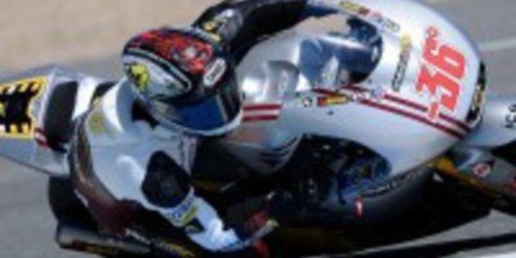 Test privado del Marc VDS Racing Team antes de Le Mans