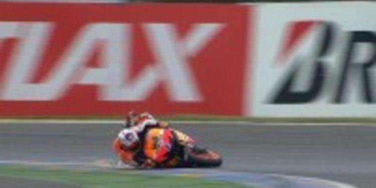 Casey Stoner también domina los FP3 de MotoGP en Francia