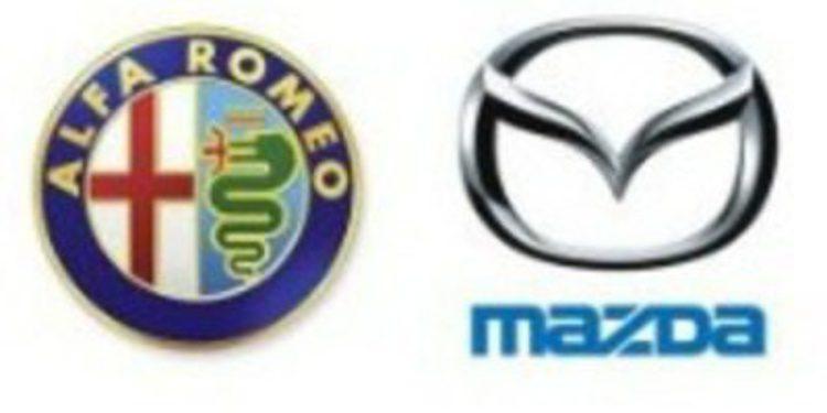Alfa Romeo y Mazda firman un acuerdo de colaboración