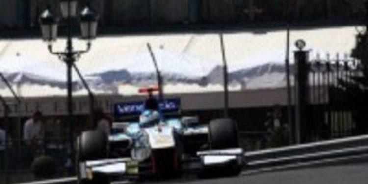Johnny Cecotto marca el ritmo en los libres de GP2 en Mónaco