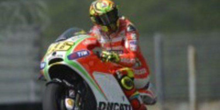 El equipo Ducati Team finaliza un nuevo test en Mugello