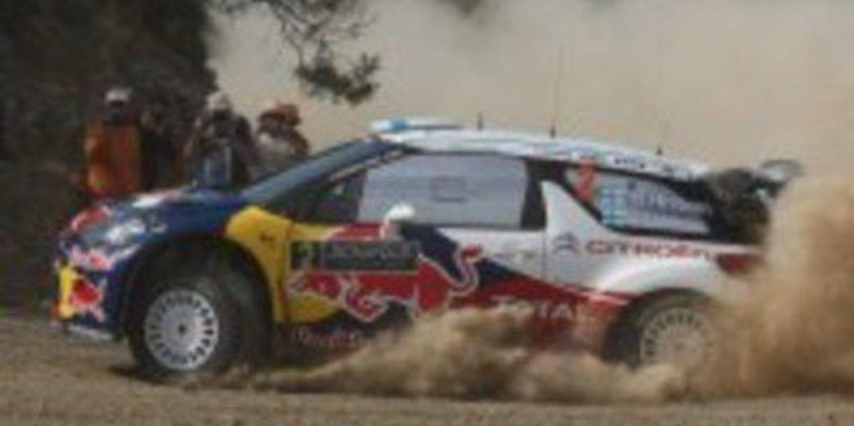 Sebastien Loeb gana en Acrópolis sin la menor competencia