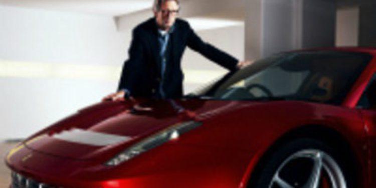 Ferrari avanza nueva información sobre el 458 único de Eric Clapton