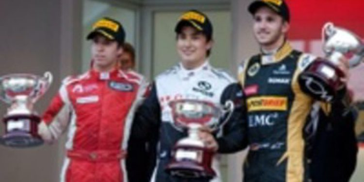 Marlon Stockinger gana al sprint en Mónaco su primera carrera en GP3