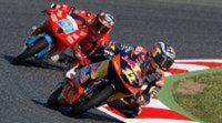 Maverick Viñales impone de nuevo su ley en los FP3 de Moto3 en Barcelona