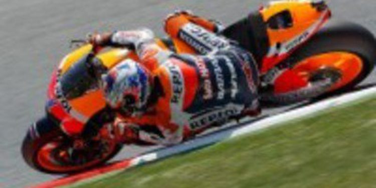 Dani Pedrosa lidera los FP3 de MotoGP del Gran Premio de Catalunya