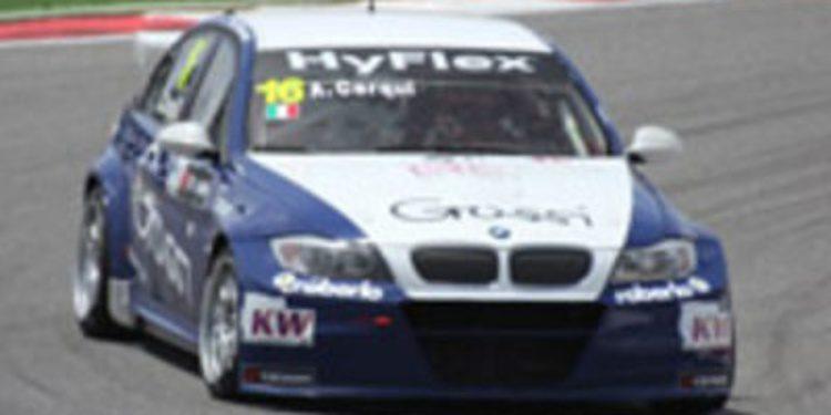 Gabriele Tarquini se alza con una gran pole en Portimao