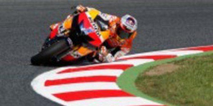 Casey Stoner es el Poleman de MotoGP en Catalunya
