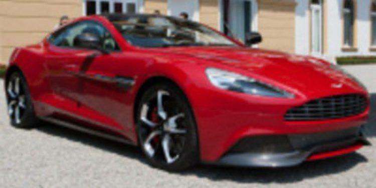 El Aston Martin AM 310 es el nuevo Vanquish