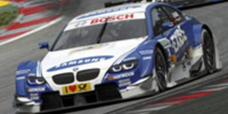 Edoardo Mortara consigue su primera victoria en el DTM