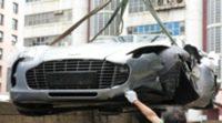 Se estrella en Hong Kong uno de los Aston Martin One-77