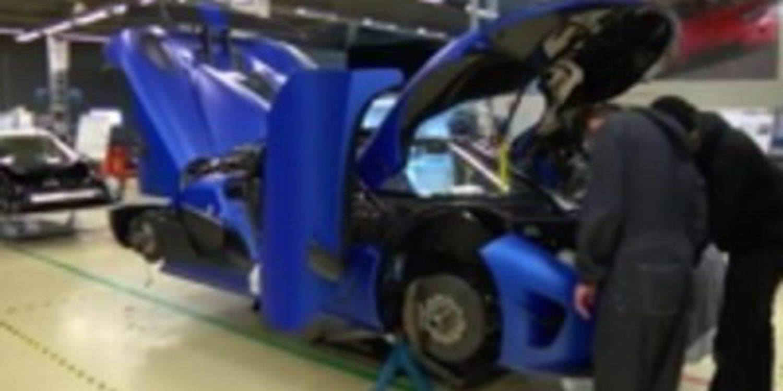 Visitando las instalaciones de Koenigsegg