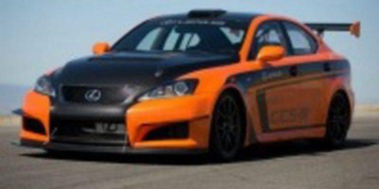 Lexus modifica un IS-F para hacerlo competir en la subida