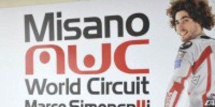 El nombre de Marco Simoncelli queda asociado al Circuito de Misano