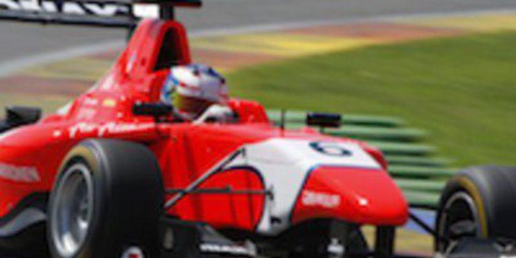 Matias Laine es el más rápido en los test de GP3 en Ricardo Tormo