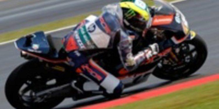 Pol Espargaró golpea primero en los FP1 de Moto2 en Silverstone