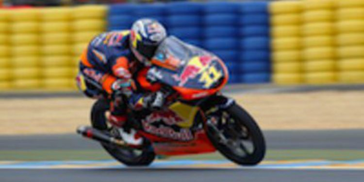 Sandro Cortese repite tiempo más rápido en los FP3 de Moto 3 en Silverstone