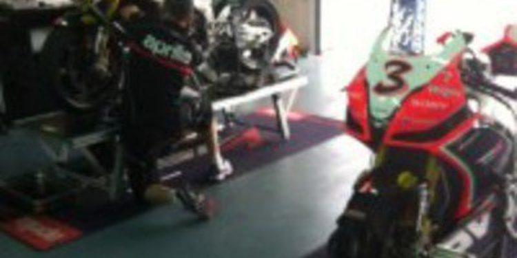 La lluvia altera la primera jornada del test del Mundial de Superbikes
