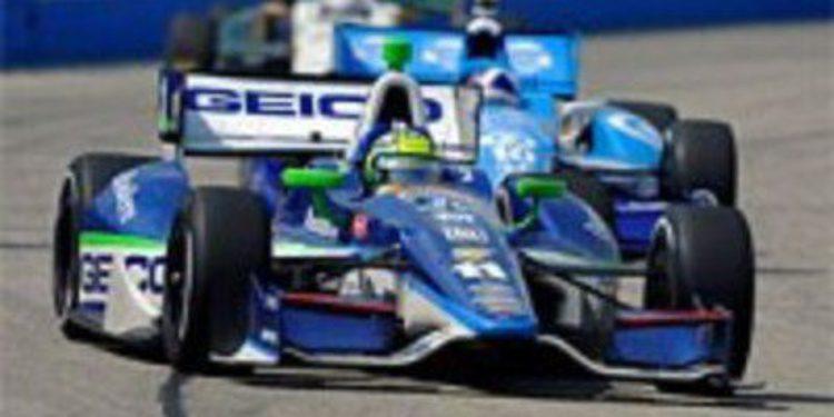 Penalización para los pilotos del KV Racing Technology en Iowa