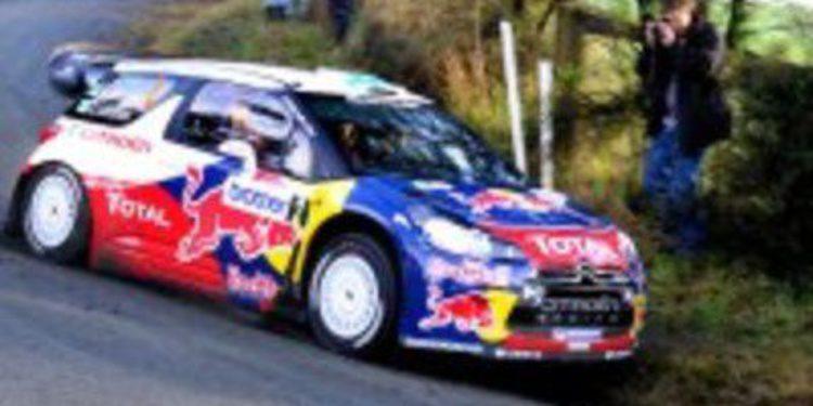 Sebastien Loeb y Citroën dominan en Nueva Zelanda desde el primer metro