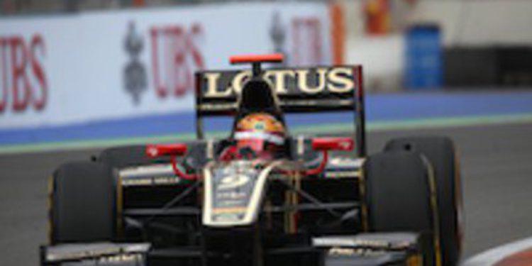 James Calado se lleva la pole de GP2 en Valencia en un duelo entre Lotus y DAMS