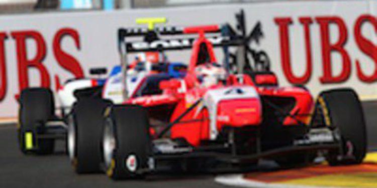 Mitch Evans se lleva la pole de GP3 en Valencia