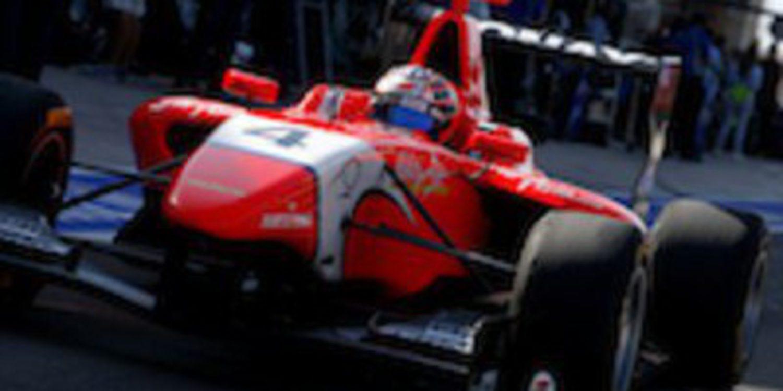 Mitch Evans redondea un gran sábado en Valencia llevándose la victoria en la primera carrera de GP3