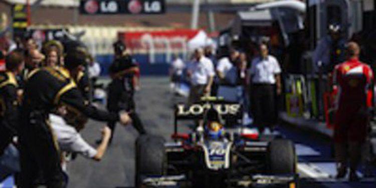 Esteban Gutierrez sale victorioso de una carrera de locos en GP2