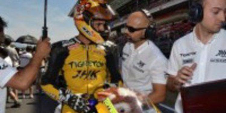 El CEV presencia la victoria de Jordi Torres en Moto2 a pesar de su lesión