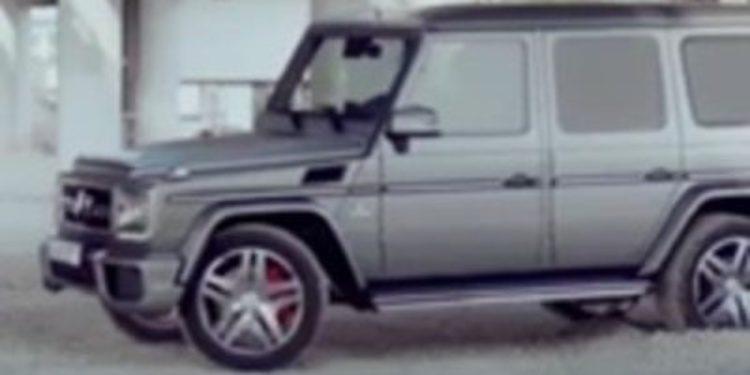 Mercedes-Benz promociona el nuevo Clase G y su Parktronic