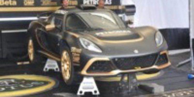 El Ypres Rallie de Bélgica sirvió para analizar el Lotus Exige R-GT