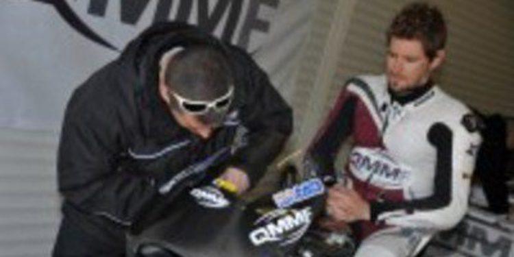 Damian Cudlin es piloto del SAG de Moto2 por dos carreras