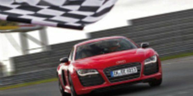 El Audi R8 E-Tron bate el record de tiempo en Nurburgring
