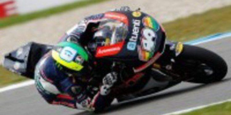 Pol Espargaró sigue imparable en los FP3 de Moto2 en Holanda