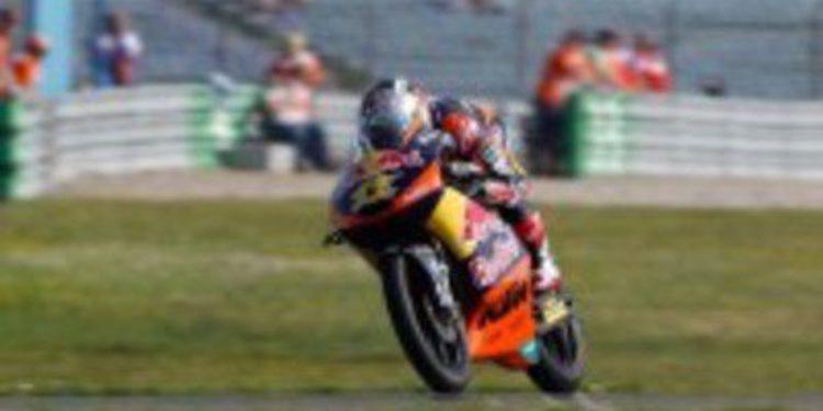 Sandro Cortese es el poleman de Moto3 en Assen gracias a los rebufos