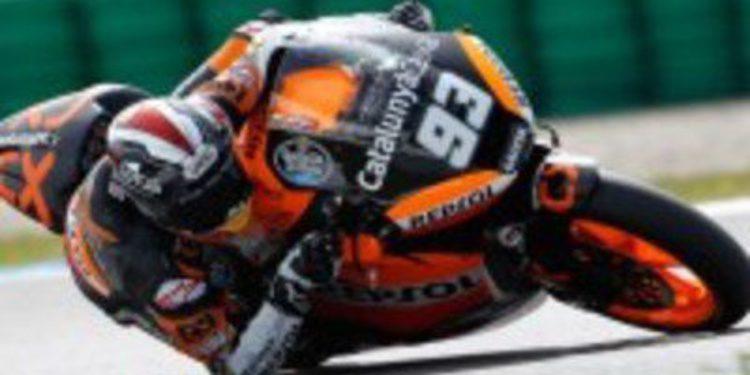 Marc Márquez consigue la Pole de Moto2 en Assen con caída incluida