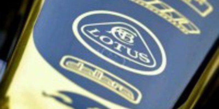Lotus tiene permiso para probar las mejoras de su motor el lunes
