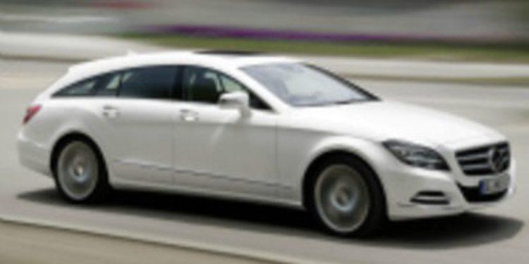 Mercedes Benz presenta el CLS Shooting Brake