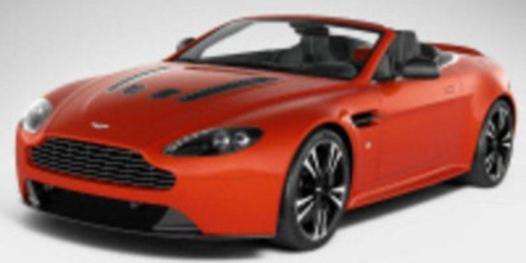 El V12 Vantage de Aston Martin tendrá una versión descapotable