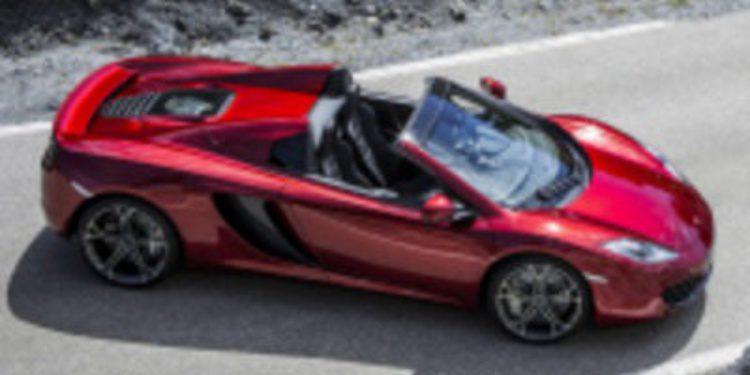El McLaren MP4-12C que te dejará ponerte moreno mientras conduces