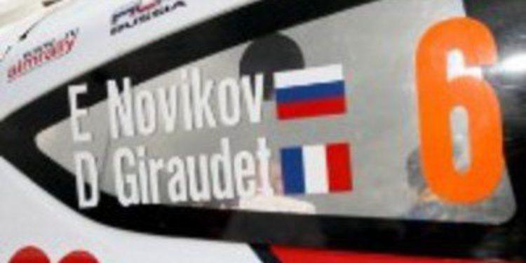 Evgeny Novikov quiere entrar con calzador en Volkswagen