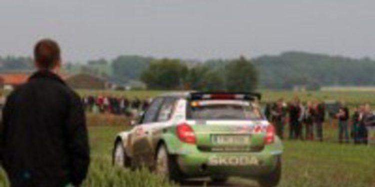Andreas Mikkelsen es el único piloto Skoda en el IRC Rallie San Marino