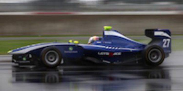 Antonio Felix da Costa el más rápido bajo el diluvio de Silverstone en GP3