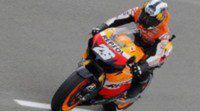 Dani Pedrosa cierra el viernes dominando en una cambiante pista alemana