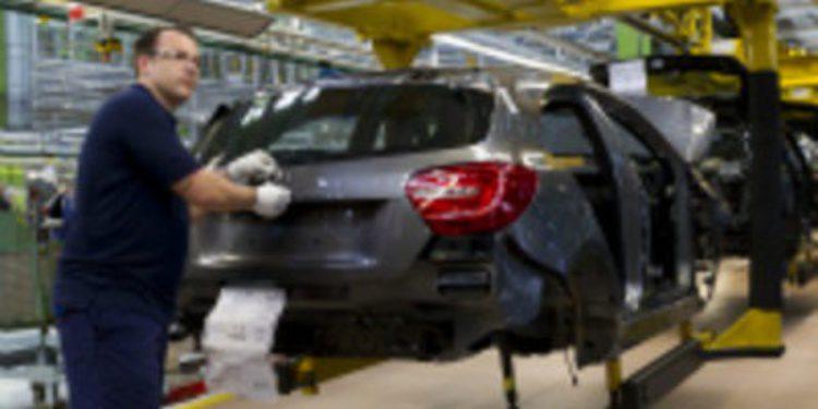 El nuevo Mercedes-Benz Clase A empieza a ser ensamblado