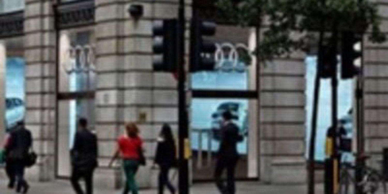 Audi City: el primer concesionario del futuro abre sus puertas en Londres