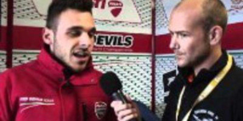 Niccolò Canepa no estará en Brno por una parálisis facial