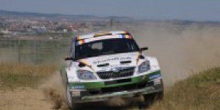 Sepp Wiegand empieza fuerte en el shakedown del IRC Rallie de Rumania