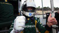 Giedo van der Garde se lleva la segunda pole del año en Hockenheim bajo la lluvia